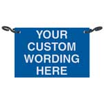 Custom Rope Sign - Supply Color, Size And Text